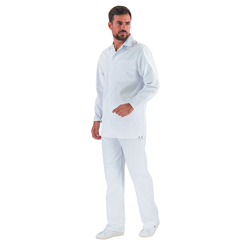 VESTE TUNIQUE STEAM     (BLANC)