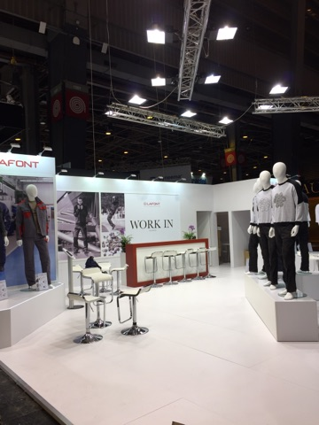 Stand Lafont salon Expoprotextion