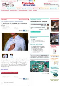 Revue de presse Cook In