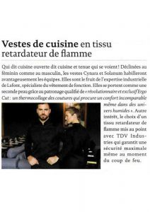 Revue de presse Cook In 10